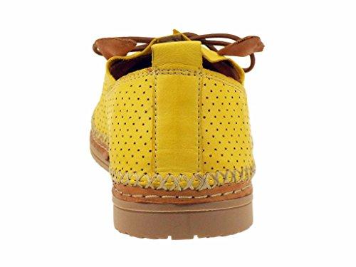 Sandales amp;abricot Jaune jaune Coco v0904a wqx0xR4YTP