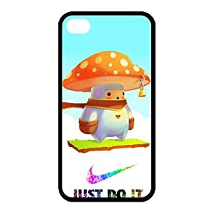 Custom Mushroom Back Cover Case for iphone 4,4S JN4S-744
