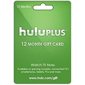 Hulu Plus 12 Month Subscription Code