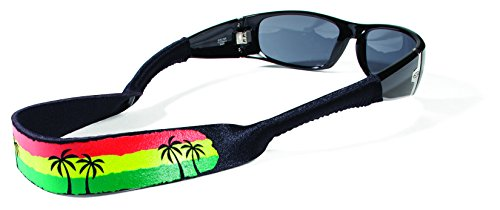 Croakies Original Croakies Eyewear Retainer, Rasta Beach - Croakies Com