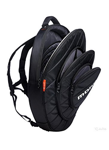 Mono M80-CY22-BLK 22-Inch Cymbal Case Black w/Bonus RIS Polishing Cloth 649241878421
