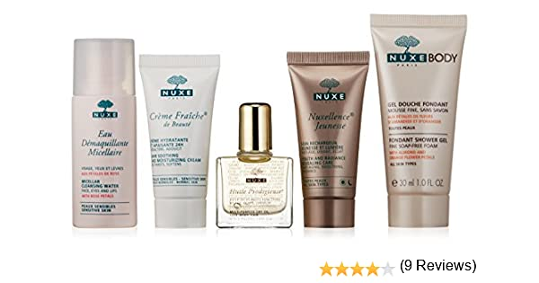 Nuxe Neceser Los Indispensables Aceite Ducha+Micelar+Huile+Le ...