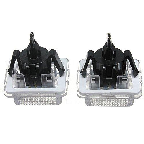 ricoy Canbus LED Nummernschild-Licht f/ür W204/ 5D W221/W212/C216/C207/C E S CL Class wei/ß 2/St/ück