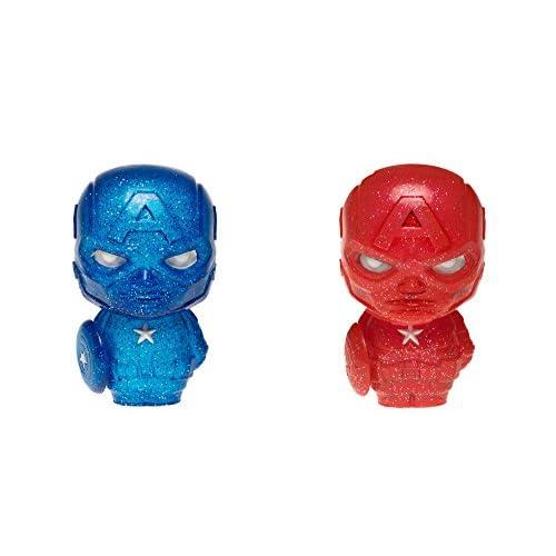 FunKo Marvel Captain America Blue & Red Hikari XS Vinyl Figurine