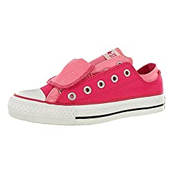 Converse Chuck Taylor All Star Double Upper Ox Pink Sz