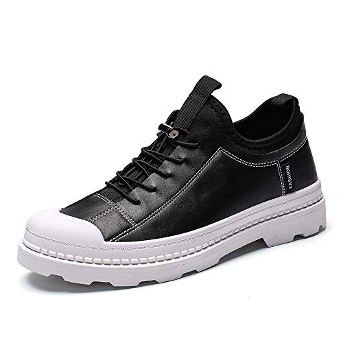Shukun Botines Retro Autumn Martin Shoes Retro Men s Shoes Short Boots Casual Low para Ayudar a Las Herramientas versátiles: Amazon.es: Deportes y aire ...
