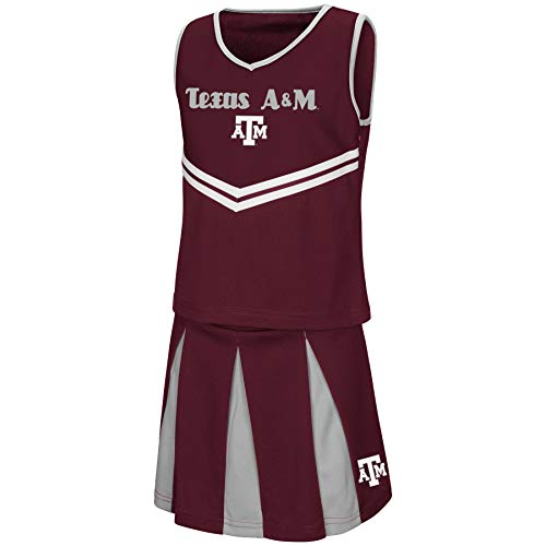 Colosseum Youth NCAA-Girls Cheer Set-Texas A&M Aggies-Youth Small