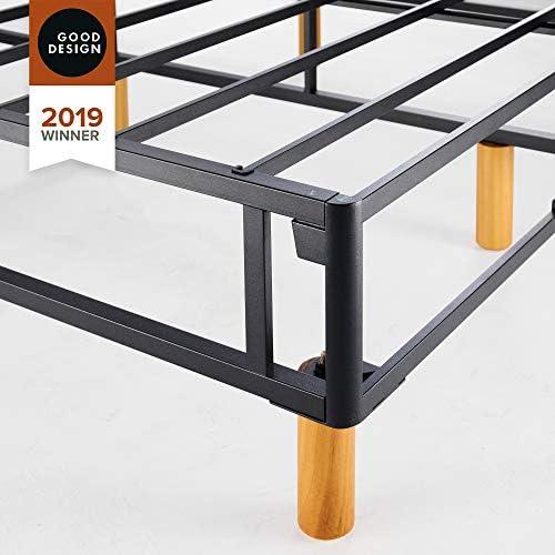 ZINUS GOOD DESIGN Award Winner Justina Metal Mattress Foundation / 16 Inch Platform Bed / No Box Spring Needed, Queen 41nbfrQeBoL