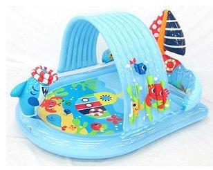 Amazon Com Intex Shark Sprayer Play Center Kids Inflatable Pools