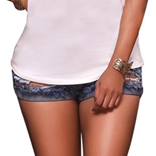 Court Femmes Image Court Denim Slim Trous Jeans Pantalons Comme Stretch Dchirs Shorts rg7xOrqwA