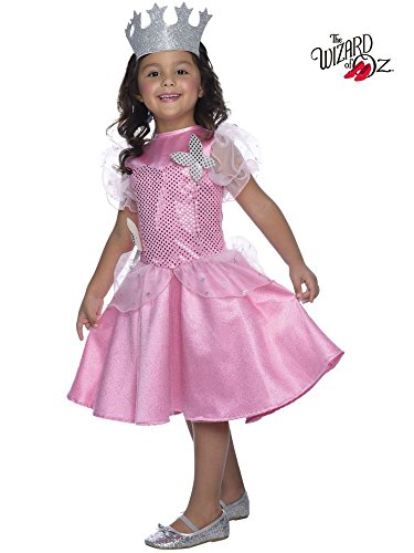 Rubie's Costume Wizard of Oz Glinda Sequin Dress Child Costume, Toddler -