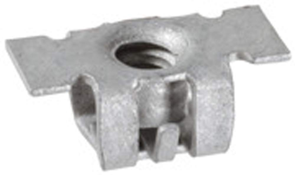 Clipsandfasteners Inc 25 M4.2-1.41 #8 Front Bumper Specialty Nuts For GM 11609952
