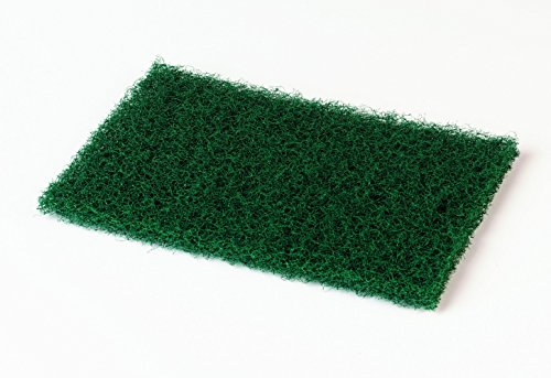 Scotch-Brite 86 Heavy Duty Commercial Scouring Pad, 9'' Length x 6'' Width x 1/4'' Thick, Green (3 Boxes of 12) by 3M (Image #1)