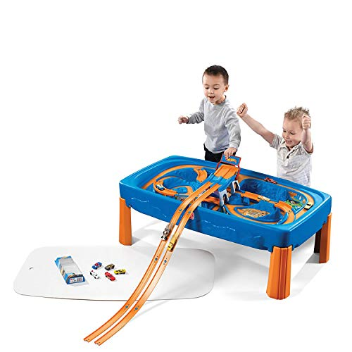 (Step2 Hot Wheels Car & Track Play Table)