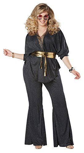 California Costumes Disco Dazzler Plus Size Adult Costume-1XL