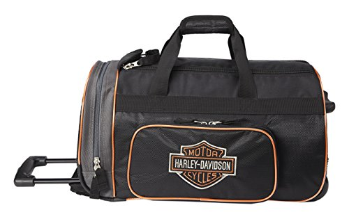 Harley Davidson 29'' Wheeled Travel Duffel, Black by Harley-Davidson