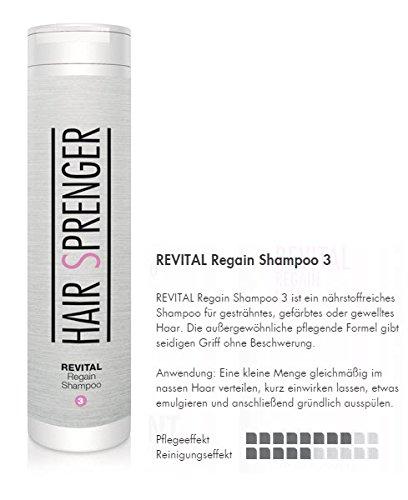 hair sprenger revital regain shampoo 200ml farbschutzshampoo