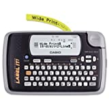 Casio KL120L - KL-120 Label Maker, 1 Lines, 7-1/2w x 4-1/2d x 2-1/5h-CSOKL120L by Casio