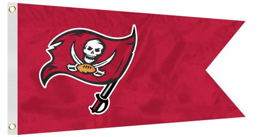 NFL Tampa Bay Buccaneers Boat/Golf Cart Flag