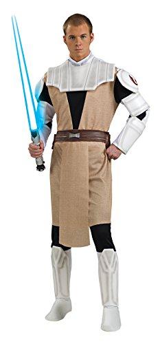 UHC Men's Obi Wan Kenobi Star Wars Movie Characters Deluxe Costume, XL (44-46)