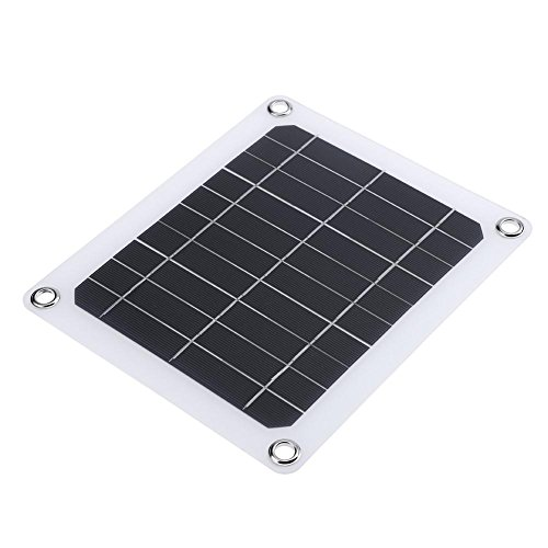 Solar Panel System,Awakingdemi5V 5W Solar Charging Panel Bat