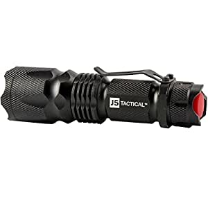 J5 Tactical V1-Pro Flashlight The Original 300 Lumen Ultra Bright, LED 3 Mode Flashlight