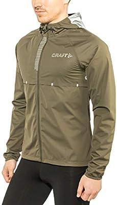 d97a07a050260 CRAFT Repel Veste imperméable de Running Homme, Olive/Argent, FR : S  (Taille Fabricant : B: S): Amazon.fr: Sports et Loisirs