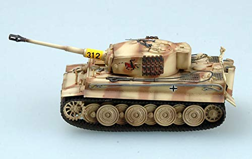 Easy Model WWII German Tiger I Late s.Pz.ABT.505 Russia 1944 1/72 Tank Non diecast ()