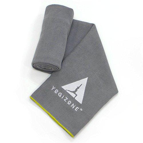Super-Absorbent Non-Skid Microfiber Yoga Towel / Mat Cover for Hot Yoga, Bikram Yoga & Pilates | Bonus eBook &