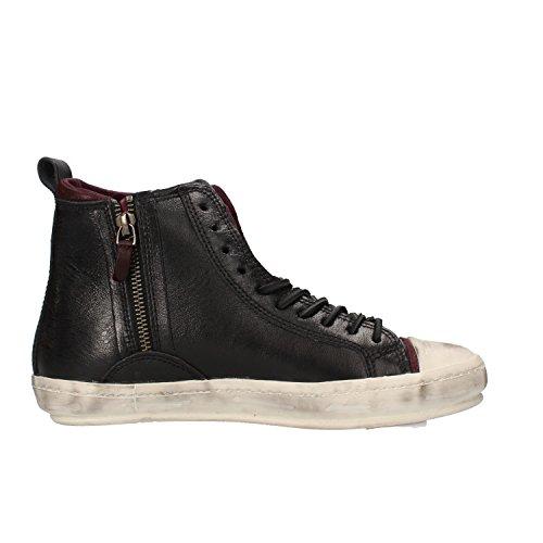 D.A.T.E. sneakers donna 37 EU nero pelle AF416-B