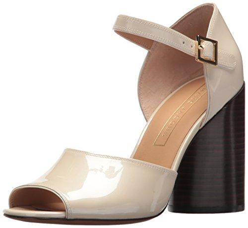 Kasia Heeled Sandal, White, 38 M EU (8 US) ()