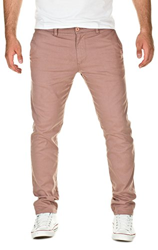 Yazubi Herren Chino Hose, Modell Kyle, by YZB Jeans, dust (4665), W34/L32