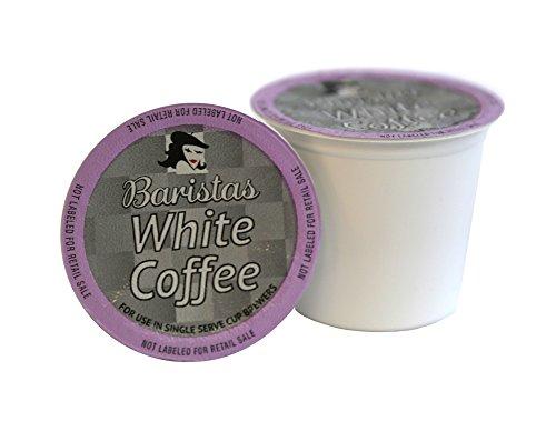 - Baristas White Coffee Single Serve Coffee Cups, Keurig 2.0 Compatible