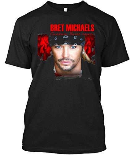 Bret Michaels Face Tour 2019 Dedekyo 5 Tee|T-Shirt Black (Bret Michaels Shirt)