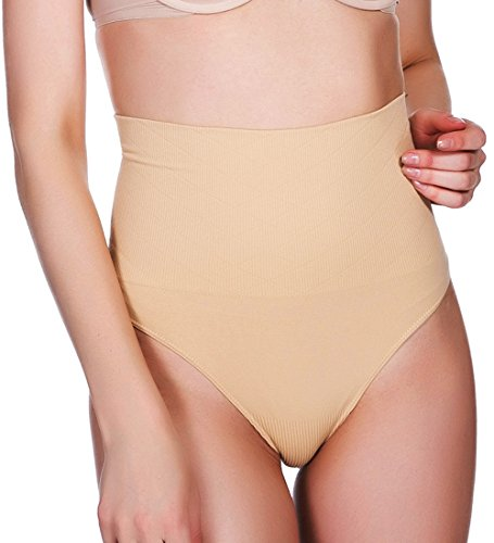 Girdle Line (MEIHUO Women Waist Cincher Girdle Sexy Thong Panty Tummy Control Slimmer Shapewear)