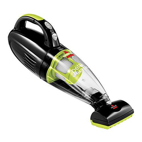 Bissell 1782 Pet Hair Eraser Cordless Hand and Car Vacuum, Green/Black (Best Pet Hair Hand Held Vacuum)