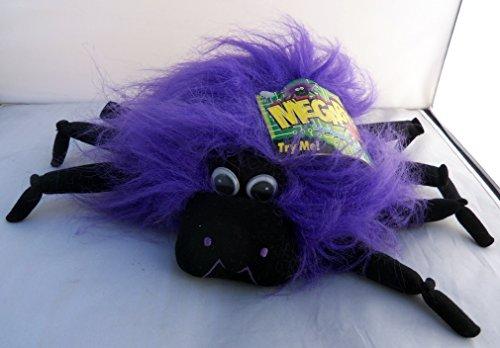 Halloween Megabyte Sound Activated Purple Spider Wiggles Plush 9