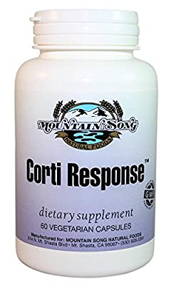 Corti Response Cortisol Manager provides Advanced Herbal Adrenal Support to help Maximize your ability to Handle Stress, with Cocoa Extract for Mood Elevation and Green Tea to support healthy weight
