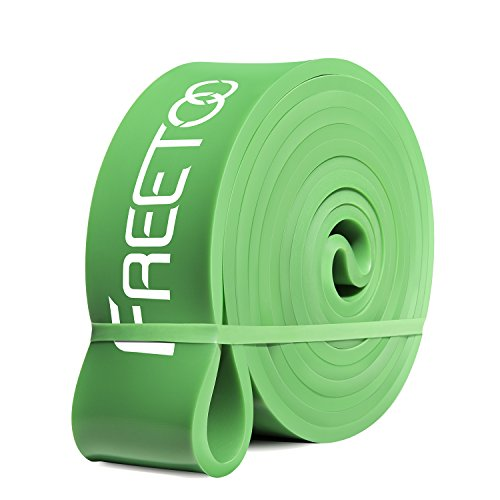 FREETOO Pull Up Assist Bands, Mobility Band - 100% Natural L