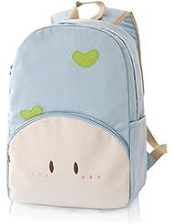 Korean Lightweight Polk Fashion Cute Womens Bag Canvas Satchel Girls Lovely Sweet Bowknot Backpack Schoolbag...