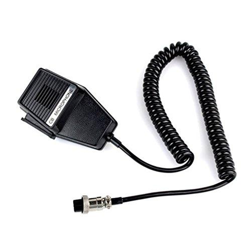 Workman CM4 CB Radio Speaker Mic Microphone 4 Pin for Cobra/Uniden Car CB Radio Walkie Talkie Ham Radio Hf Transceiver J6285A dianpo