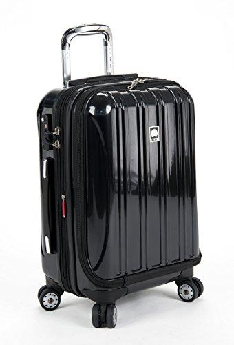 - Delsey Luggage Helium Aero International C O Exp. Spinner Trolley, Black, One Size