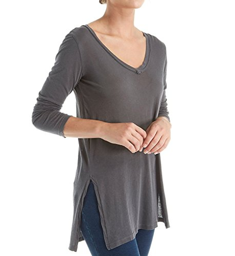 Splendid Women's Vintage Whisper Ls Tunic, Lead, L