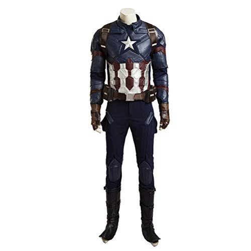 Civil War Captain America Steve Rogers Cosplay Costume Adults Cosplay Costumes -