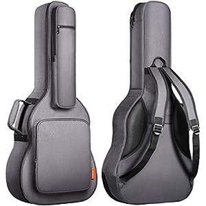 CAHAYA Gitarrentasche Gig bag Gepolsterte Tasche 18mm Wasserdicht Gitarre Tasche Gitarren Bag Guitar Case Gitarrenhülle für 41 Zoll Gitarren