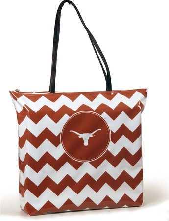 University of Texas Large Chevron Shopper (Texas Longhorns Large Tote)