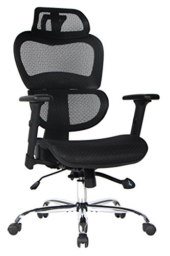 VIVA OFFICE High Back Mesh Executive Chair with Adjustable Headrest and Armrest by VIVA OFFICE