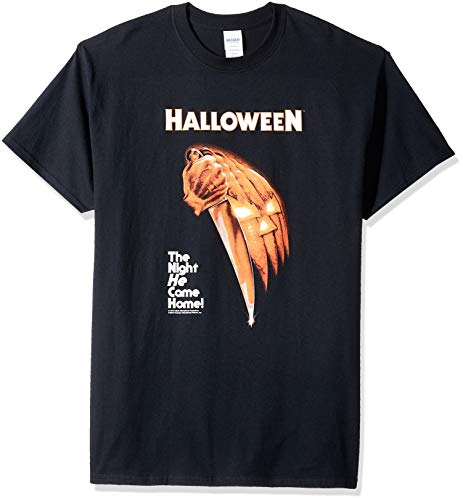 (Impact Men's Halloween Night He Came Home T-Shirt, Black,)