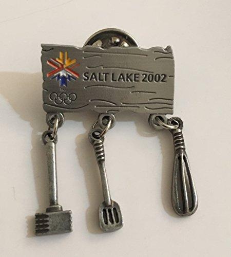(2002 Salt Lake City Winter Olympics Cooking Utensils Pin LE 5000)