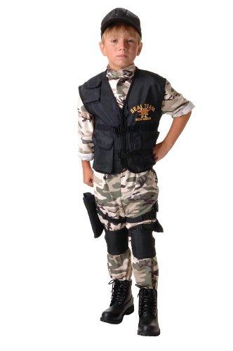 Navy SEAL Team Kids Costume (Kids Navy Costumes)